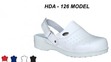 Hospital Nursing Clogs With Strap HDA-126