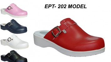 Women Heel Spur Hospital Clogs EPT-202