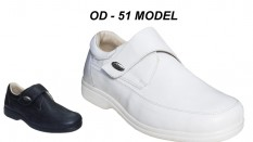 Men's Leather Nursing Shoes OD-51