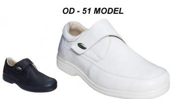 Men's Leather Nursing Shoes OD-51