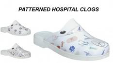 Patterned Hospital Clogs For Men