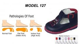 Child Flat Foot Shoes Model 127