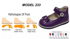 Child Flat Foot Shoes with Arch Support Model 233
