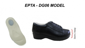 Deep and Width Women Shoes for Heel Spurs EPTA-DG06