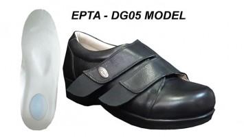 Women's Heel Spurs Shoes for Swollen Feet EPTA-DG05