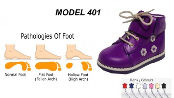 Flat Foot High Boots for Child Model 401