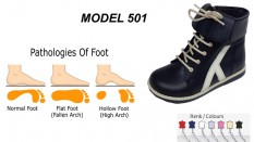 Flat Foot High Boots for Kids Model 501