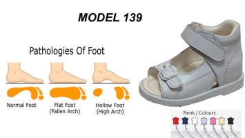 0263f8cedfa Flat Foot Sandals for Child Model 139