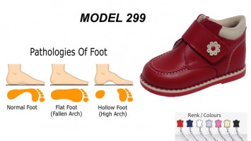 Kid's Flat Foot Boots Model 299