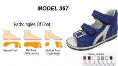 Kid's Flat Foot Sandals Model 367