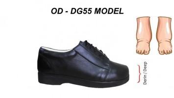 Men's Diabetic Extra Width Shoes OD-DG55