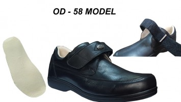 Men's Diabetic Shoes Adjustable Tarsal Model OD-58