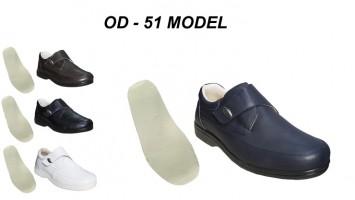 Men's Leather Orthopedic Diabetic Shoes OD-51