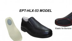 Men's Shoes Model for Bunions and Heel Pain EPTHLX53