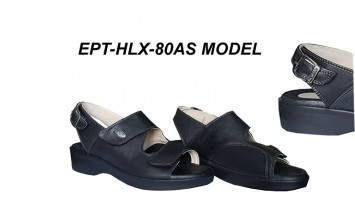Women's Sandals for Bunions and Heel Spurs EPT-HLX-80AS