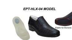 Orthopedic Leather Shoes for Bunion and Heel Spurs EPT-HLX-04