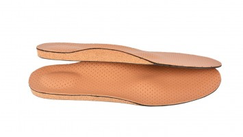 Cork Insole for Heel Spurs and Flat Foot