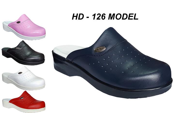 Women-Leather-nursing-hospital-clogs-HD126