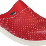 Men-red-colous-holes-hospital-doctor-clogs