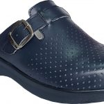 Women nursing clogs navy