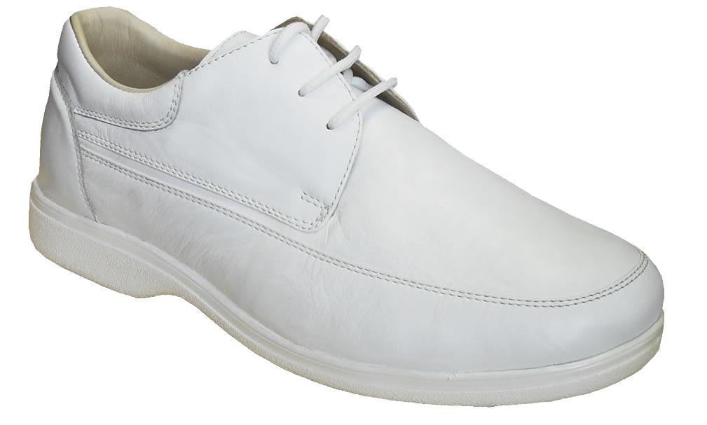 White colour orthopedic doctor shoe