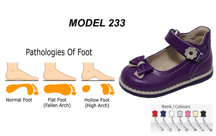 Best Arch Support Shoes for Toddler Model 233