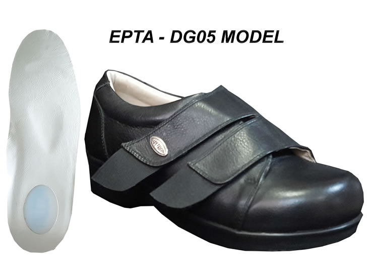 47c6102391e Extra Wide Plantar Fasciitis Shoes for Swollen Feet EPTA-05S