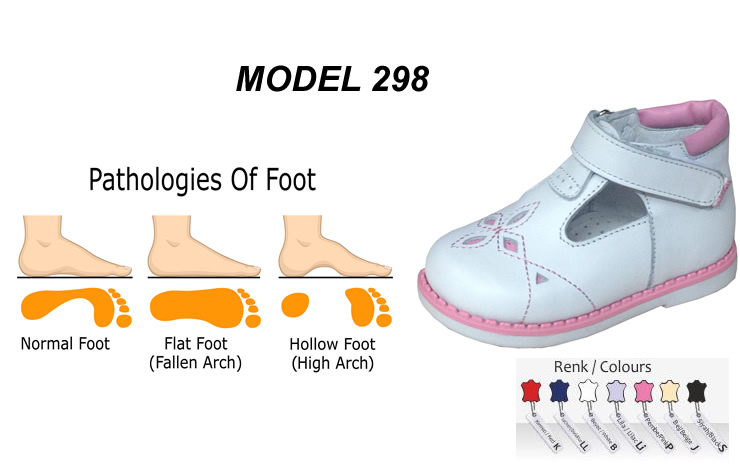 Kids Arch Support Shoes for Flat Feet Model 298