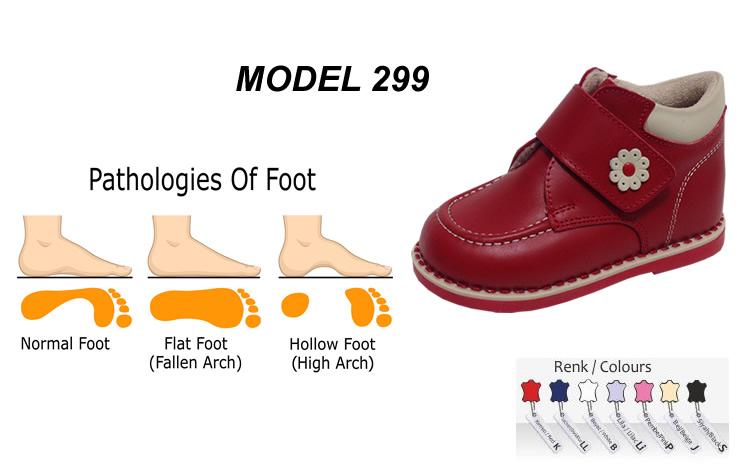 Kids Shoes for Fallen Arch Model 299