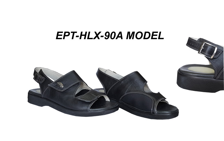 Extra Wide Sandals for Bunions and Plantar Fasciitis EPT-HLX-90A