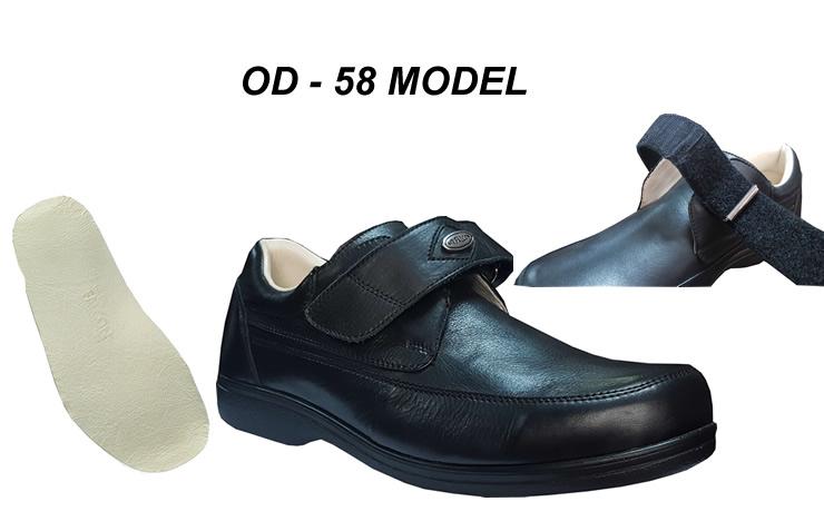 Men's Diabetic Shoes Adjustable Tarsal Model OD-58