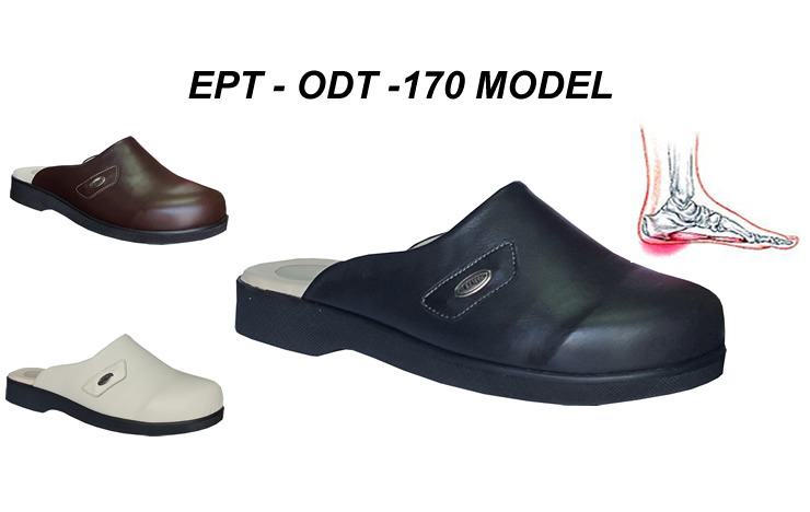House Slippers for Diabetics and Plantar Fasciitis EPT-ODT-170