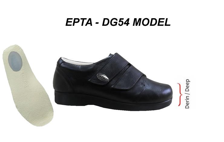 Men's Extra Depth Width Therapeutic Heel Spurs Shoes EPTA-DG54