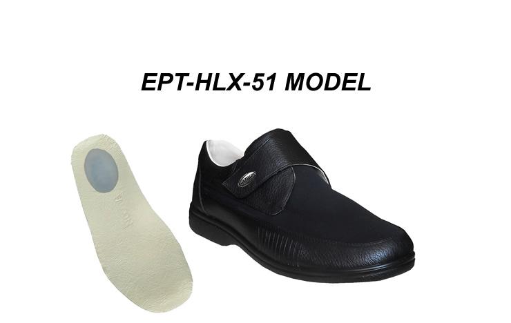 Men's Hummer Toe & Heel Spurs Shoes Model EPT-HLX-51