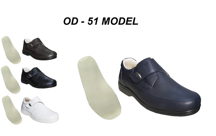 Men's Leather Orthopedic Diabetic Shoes OD-51