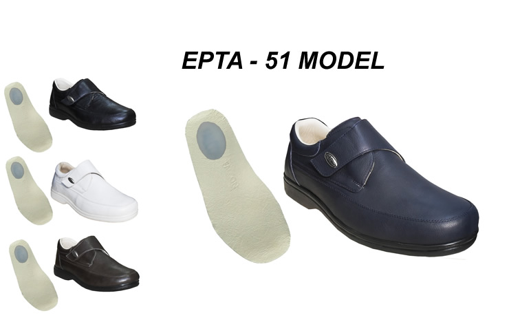 Men's Orthopedic Shoes for Heel Spurs EPTA-51