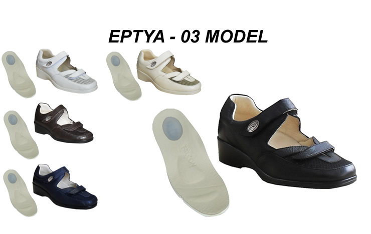 Women's Summer Leather Shoes for Heel Spurs EPTYA-03