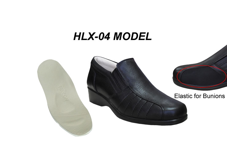Fashionable Shoes for Bunions HLX-04S