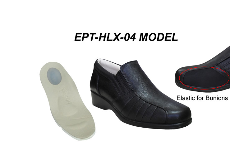 Women's bunyon & heel pain shoes model EPT-HLX-04