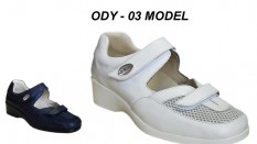 Bayan Deri Hastane Ayakkabısı ODY-03