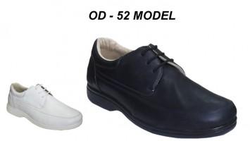 Erkek Bağcıklı Hastane Ayakkabı Modeli OD-52
