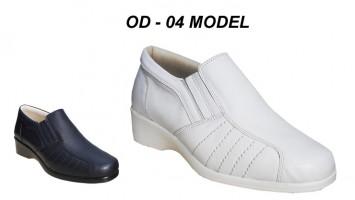 Bayan Ortopedik Hastane Hemşire Ayakkabısı OD-04
