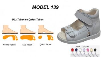 Çoçuklar için Düz Taban Sandalet Model 139