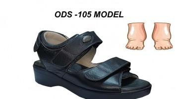 Bayan Diyabet Sandaleti Ödemli ve Şiş Ayaklar ODS-105
