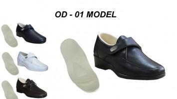 Diyabet Şeker Ayakkabısı Bayan OD-01