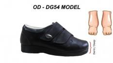 Diyabetik Şeker Ayakkabısı Erkek Şiş Ayaklar OD-DG54