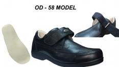 Erkek Diyabetik Ayakkabı Ayarlanabilir Tarsal Atkılı OD-58