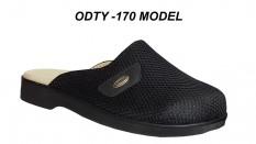 Ortopedik Deri Erkek Diyabet Terliği ODTY-170