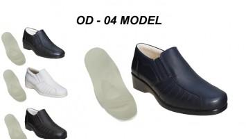 Ortopedik Diyabet Ayakkabısı Bayan OD-04