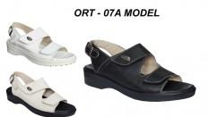 Ortopedik Sandalet Bayan Deri Model ORT-07A